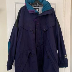 Vintage Helly Hanson Equipe Parka w/Helly Tech XL